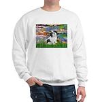Lilies / Lhasa Apso #2 Sweatshirt