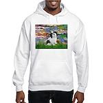 Lilies / Lhasa Apso #2 Hooded Sweatshirt