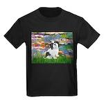 Lilies / Lhasa Apso #2 Kids Dark T-Shirt