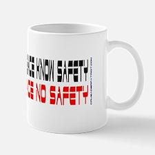 KNOW GUNS KNOW PEACE KNOW SAFETY Mugs