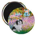 Garden / Lhasa Apso #2 Magnet