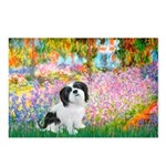 Garden / Lhasa Apso #2 Postcards (Package of 8)