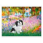 Garden / Lhasa Apso #2 Small Poster