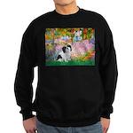 Garden / Lhasa Apso #2 Sweatshirt (dark)