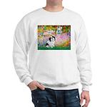 Garden / Lhasa Apso #2 Sweatshirt