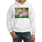 Garden / Lhasa Apso #2 Hooded Sweatshirt