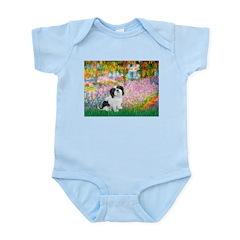 Garden / Lhasa Apso #2 Infant Bodysuit