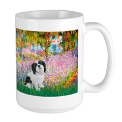 Garden / Lhasa Apso #2 Large Mug
