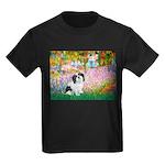 Garden / Lhasa Apso #2 Kids Dark T-Shirt