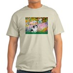 Garden / Lhasa Apso #2 Light T-Shirt