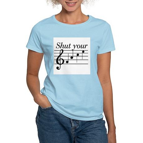Shut your face Women's Light T-Shirt