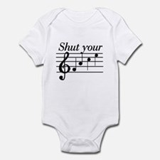 Shut your face Infant Bodysuit
