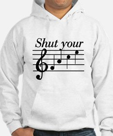 Shut your face Jumper Hoody