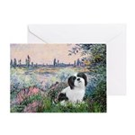 Seine / Lhasa Apso #2 Greeting Card