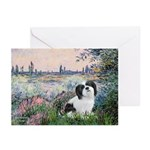 Seine / Lhasa Apso #2 Greeting Cards (Pk of 10)