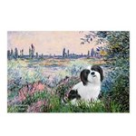 Seine / Lhasa Apso #2 Postcards (Package of 8)