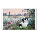 Seine / Lhasa Apso #2 Sticker (Rectangle 10 pk)