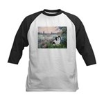Seine / Lhasa Apso #2 Kids Baseball Jersey
