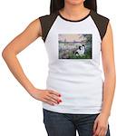 Seine / Lhasa Apso #2 Women's Cap Sleeve T-Shirt