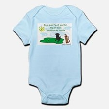 pit bull Infant Bodysuit