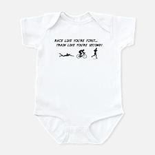 Race Like Your First Triathlon Infant Bodysuit