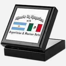 Argentinian-Mexican Keepsake Box