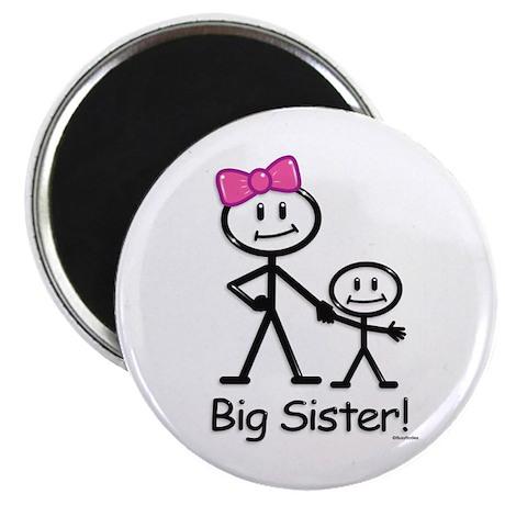 """Big Sister 2.25"""" Magnet (10 pack)"""