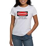 Danger Sign Women's T-Shirt