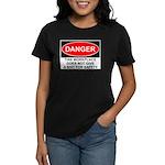 Danger Sign Women's Dark T-Shirt