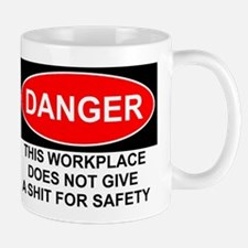Danger Sign Mug