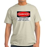 Danger Sign Light T-Shirt