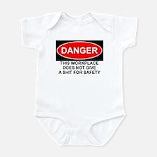 Danger Sign Infant Bodysuit