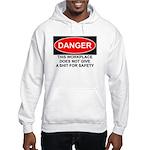 Danger Sign Hooded Sweatshirt
