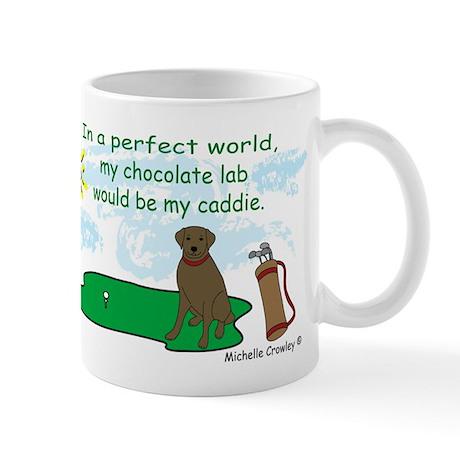 chocolate lab Mug