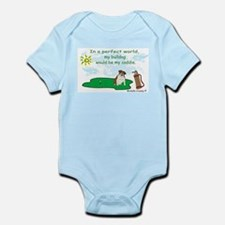 bulldog Infant Bodysuit