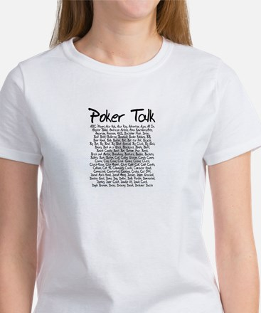 Poker Talk (Poker Terms) Women's T-Shirt