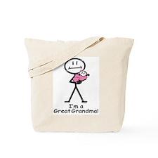 Great Grandma Baby Girl Tote Bag