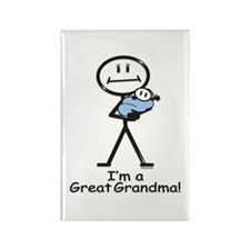 Great Grandma Baby Boy Rectangle Magnet