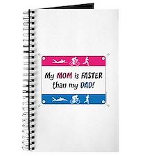 My Mom is FASTER Triathlon Journal