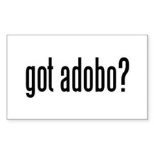 got adobo? Rectangle Decal