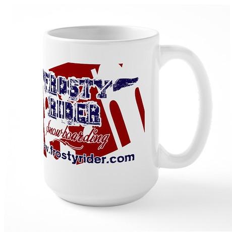 Frosty Rider Team Large Mug
