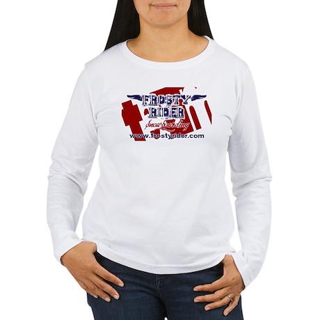 Frosty Rider Team Women's Long Sleeve T-Shirt