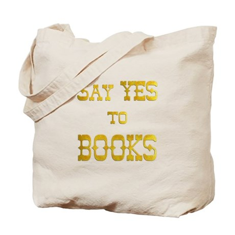 Yes to Books Tote Bag