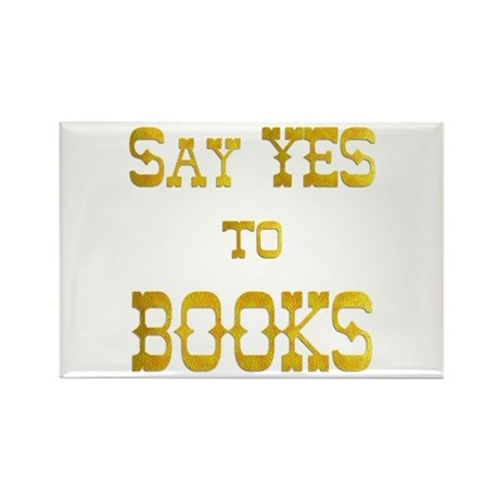 Yes to Books Rectangle Magnet (100 pack)