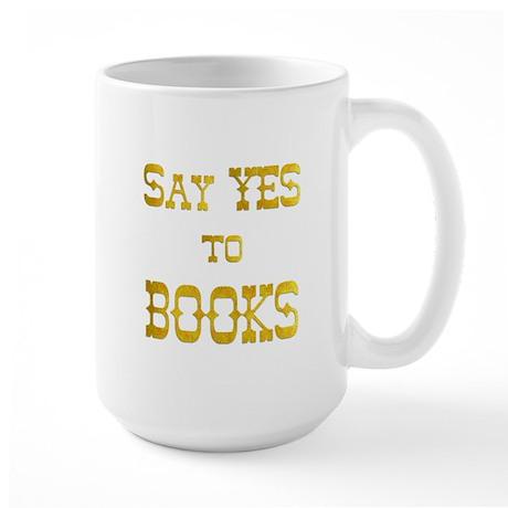 Yes to Books Large Mug