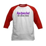 Mom Knows Best Kids Baseball Jersey