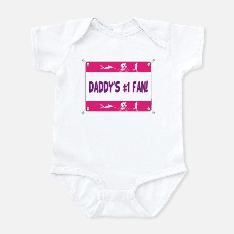Daddy's #1 Fan Infant Bodysuit