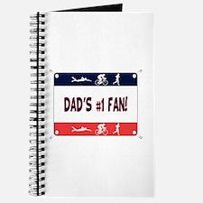 Dad's #1 Fan Journal