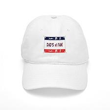Dad's #1 Fan Baseball Cap