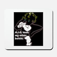 A.I.G. insurance Mousepad